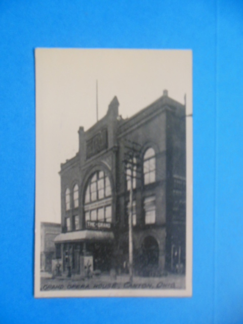 Image for Postcard Grand Opera House, Canton, Ohio (1911)