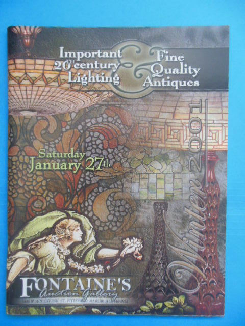 Image for Important 20th Century Lighting & Fine Quality Antiques Fontaine's Auction Gallery Catalog January 27, 2001 (Realized Price Sheet)