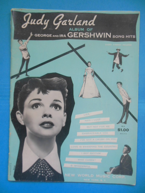 Image for Judy Garland Album of George and Ira Gershwin Song Hits (1930)