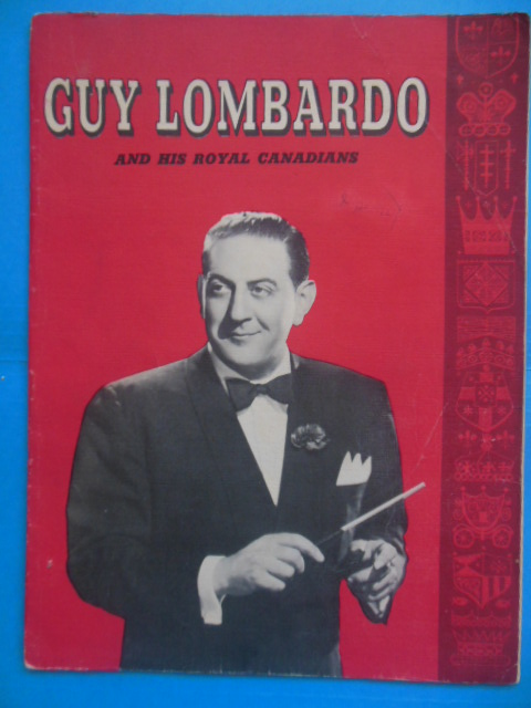 Image for Guy Lombardo And His Royal Canadians Booklet (SIGNED by Lombardo & Band Members, 1950's)