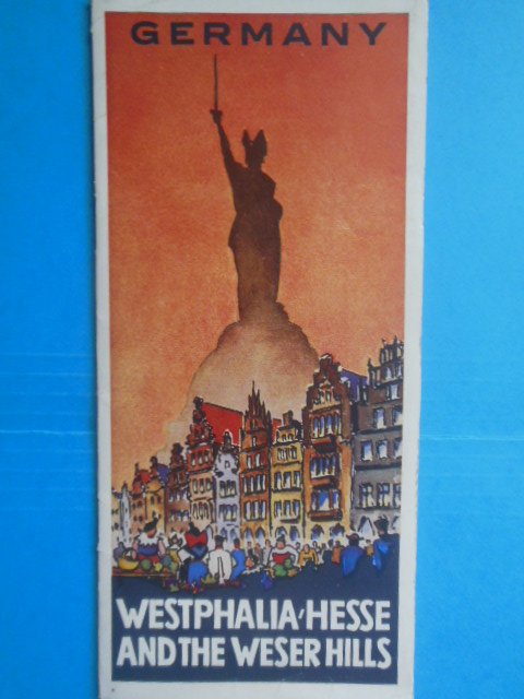 Image for Germany Westphalia Hesse and the Weser Hills 1936 Travel Brochure