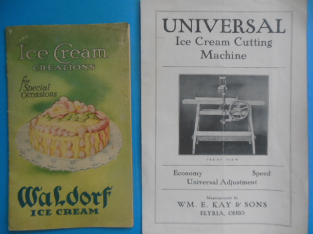 Image for Ice Cream Ephemera: Waldorf Ice Cream, Wm. E. Kay & Sons (Akron and Elyria, Ohio, 1920's)