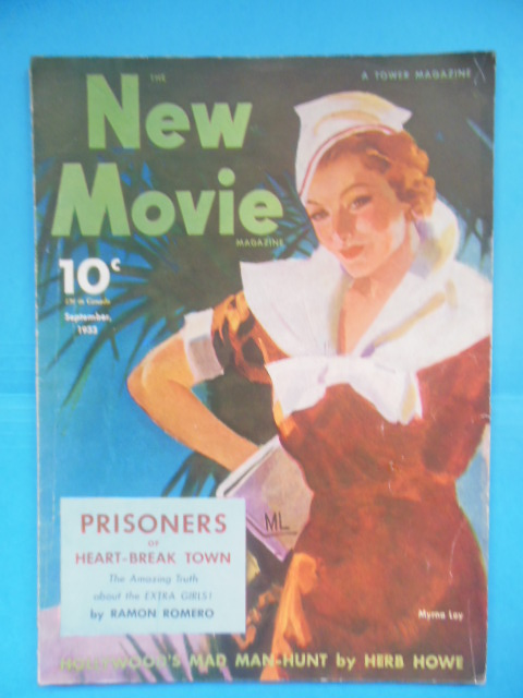 Image for New Movie Magazine September, 1933 (Myrna Loy, Mickey Mouse)
