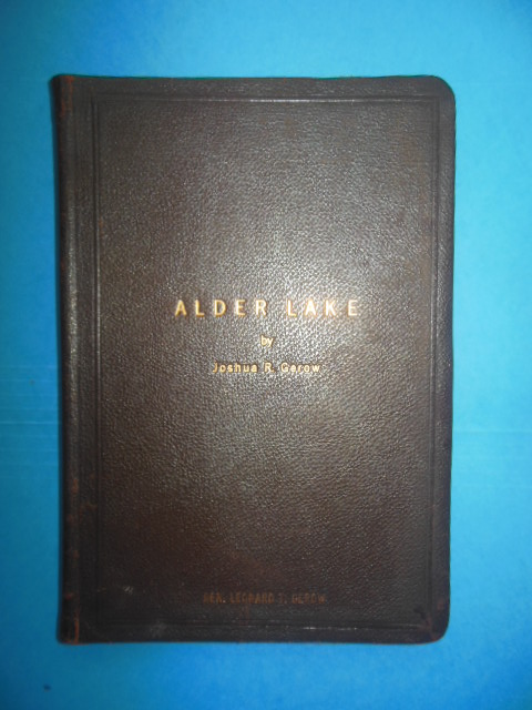 Image for Alder Lake: A Symposium of Nostalgic and Natural Observation (Limited to 400 copies, 1953)