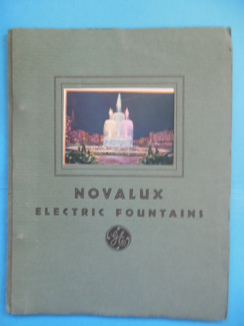 Novalux Electric Fountains (General Electric, 1934)