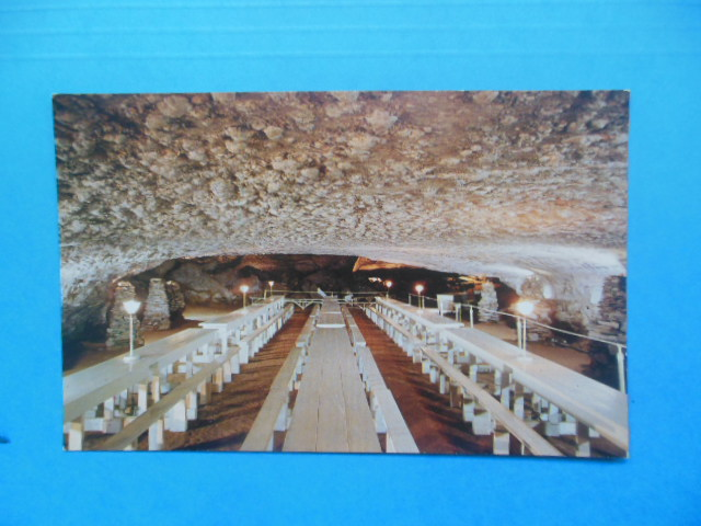 Image for Postcard Snowball Dining Room In Mammoth Cave (Kentucky)
