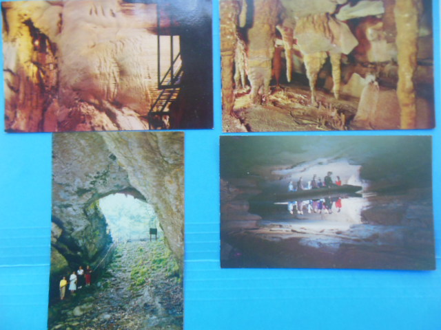 Image for Postcards Mammoth Cave (Echo River, Cave Entrance, Onyx Colonnade, Frozen Niagara)