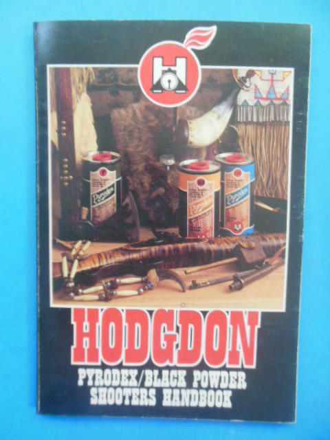 Image for Hogdon Pyrodex/Black Powder Shooters Handbook (SIGNED by Bruce Hogdon 1981)