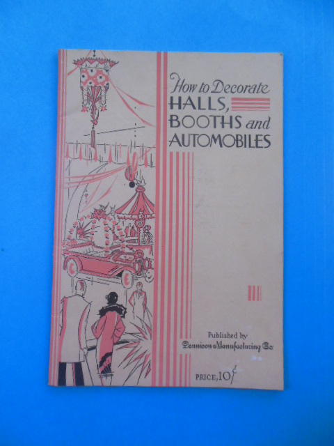 Image for How To Decorate Halls, Booths and Automobiles (1927)