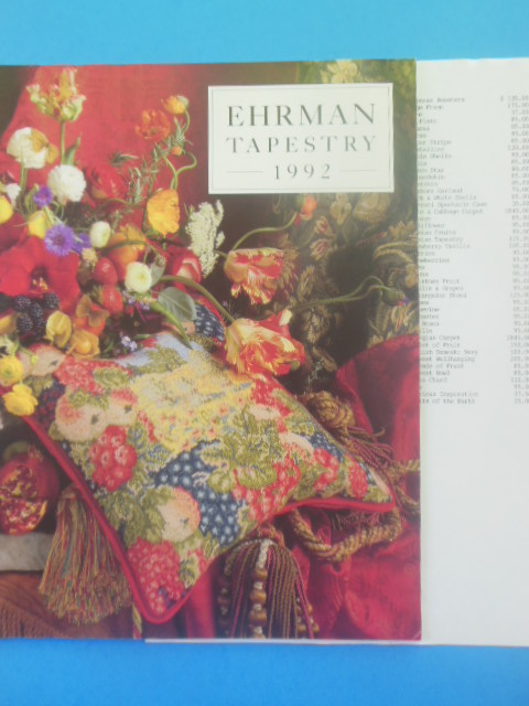 Image for Ehrman Tapestry 1992 Catalog (Price-list laid-in)