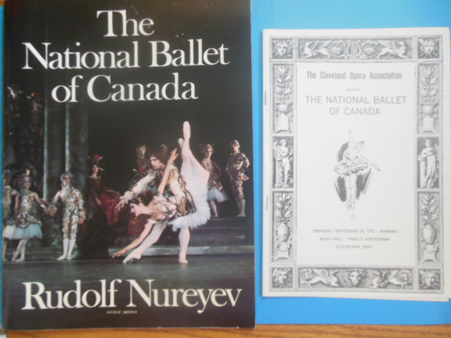 Image for The National Ballet of Canada Rudolf Nureyev The Sleeping Beauty and Swan Lake (1972)