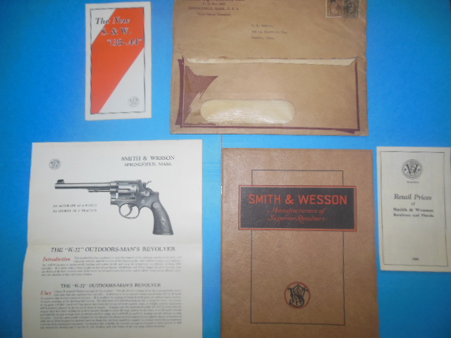 Image for Smith & Wesson Manufacturers of Superior Revolvers (Original Envelope Plus Xtras) 1930