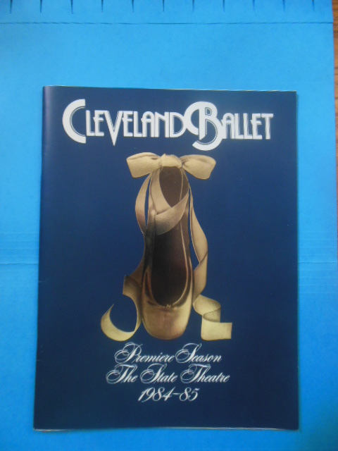 Image for Cleveland Ballet Premiere Season The State Theatre 1984-85 (Souvenir)