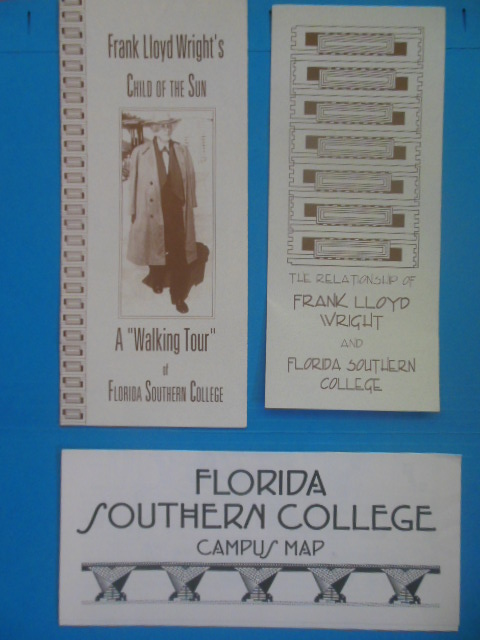 Image for Frank Lloyd Wright's Child of the Sun: A Walking Tour of Florida Southern College (circa 1998)