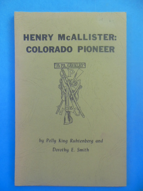 Image for Henry McAllister:Colorado Pioneer (1972)