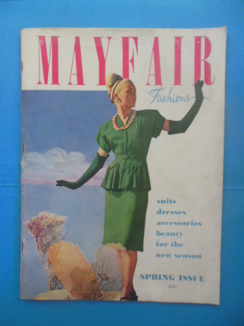 Image for Mayfair Fashions: Suits, Accessories, Beauty for the New Season (Spring, 1946)