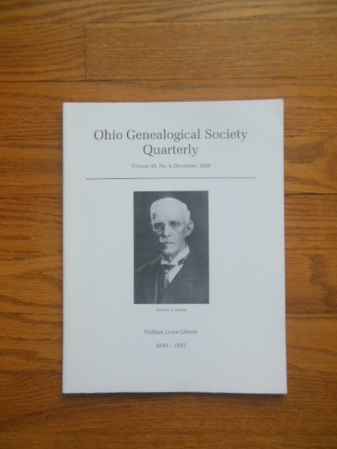 Image for Ohio Genealogical Society Quarterly December, 2008 (Nathan Lowe Glover, Summit County)