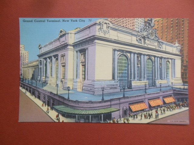 Image for Postcard Grand Central Terminal, New York City
