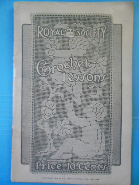 Image for Royal Society Crochet Lessons No. 6 (1915)