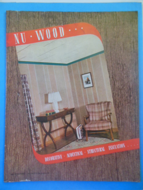 Image for Nu-Wood: Decorative, Acoustical, Structural, Insulation (1939)