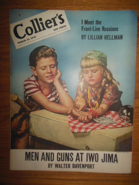Image for Collier's Magazine March 31, 1945 (Lillian Hellman Meets Russians)
