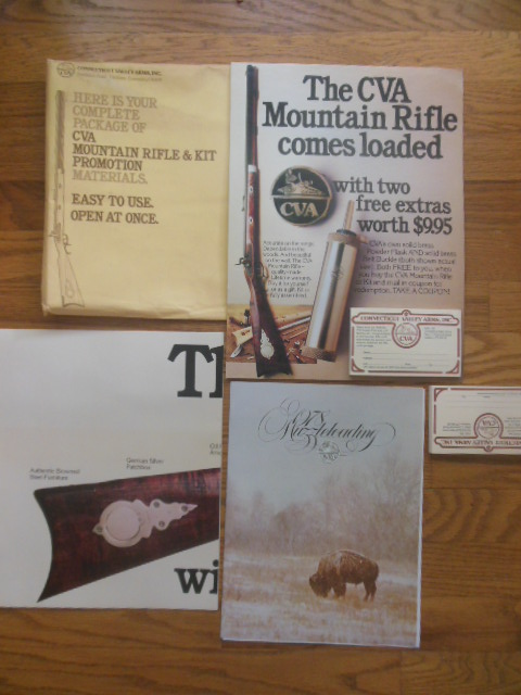 Image for CVA Mountain Rifle & Kit Promotion Materials (1977)