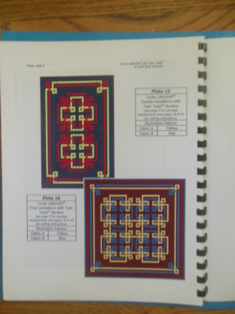 Image for Lucky Labyrinth And Twin Twist: 2 Patterns With 20 Quilt Top Options (2007)