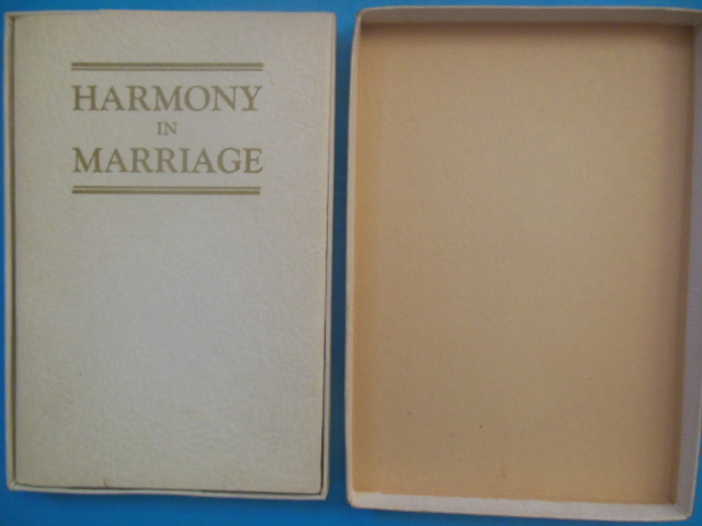 Image for Harmony In Marriage (Book In A Box, 1948)