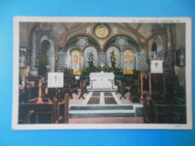 Image for Postcard St. John's Altar Hampton, Virginia