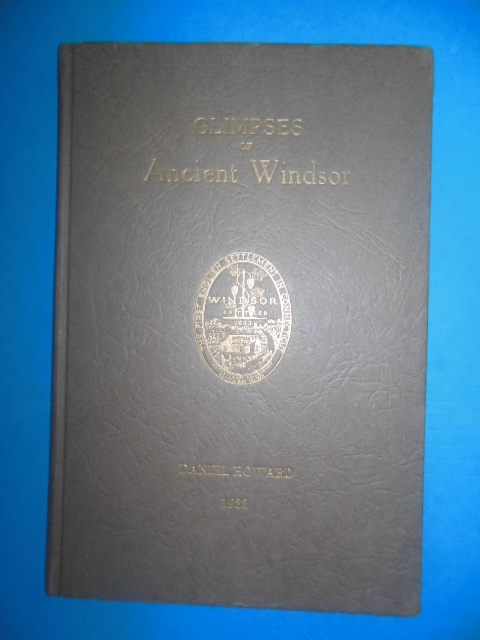 Image for Glimpses of Windsor From 1633 to 1933 (Tercentenary Windsor, Connecticut, 1933)