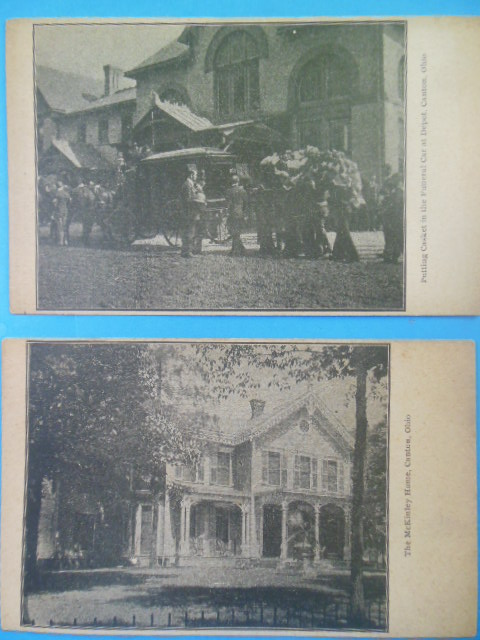 Image for Private Mailing Cards William McKinley Home, McKinley Funeral  (1891-1901)
