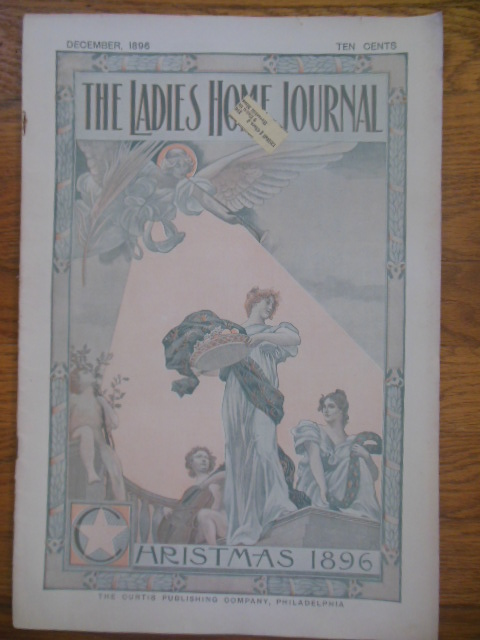 Image for Ladies Home Journal Magazine December, 1896