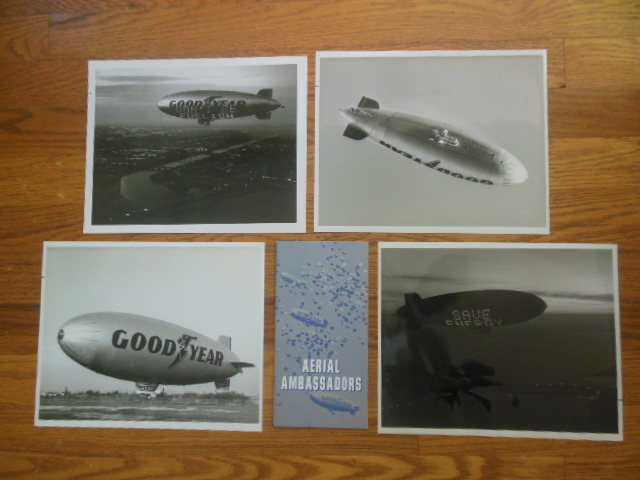 Image for Photographs Goodyear Blimp Day and Night; Booklet Goodyear Aerial Ambassadors