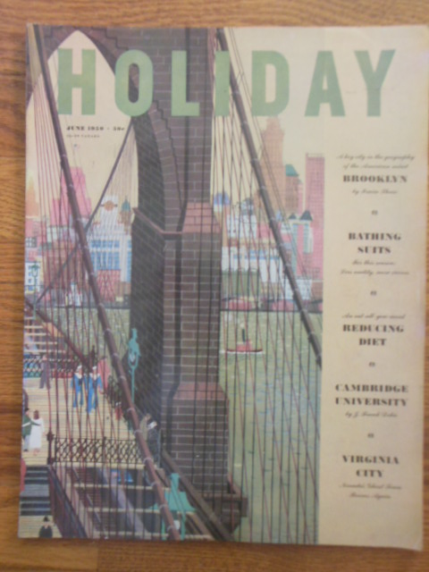 Image for Holiday Magazine June, 1950 (Brooklyn by Irwin Shaw)