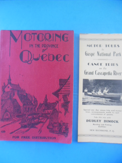 Image for Guide de Route 1936 Road Guide combined with 5th Edition  Motoring in  Province of Quebec