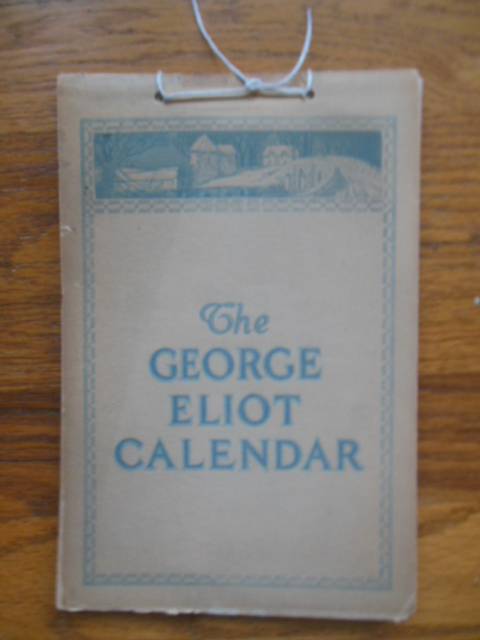 Image for The George Eliot Calendar 1920