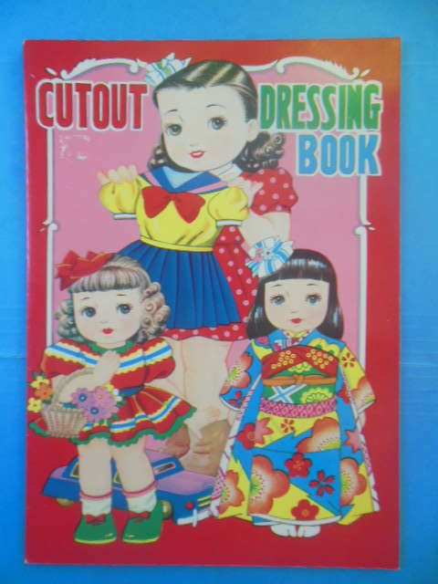 Image for Cutout Dressing Books; Japanese Paperdolls