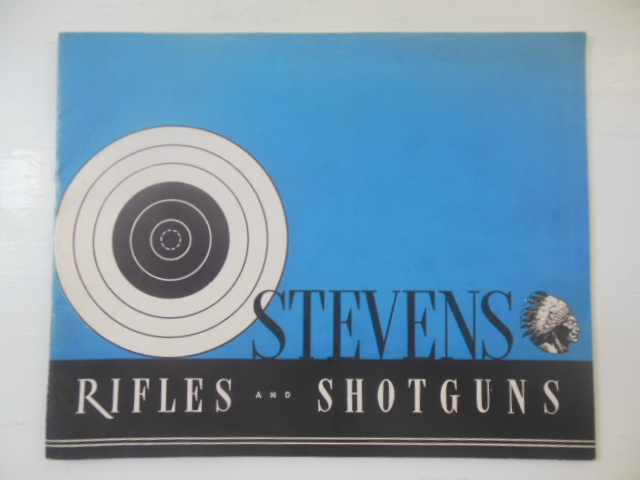 Image for 1940 Stevens Rifles & Shotguns Catalog No. 40 (with letter and price list)