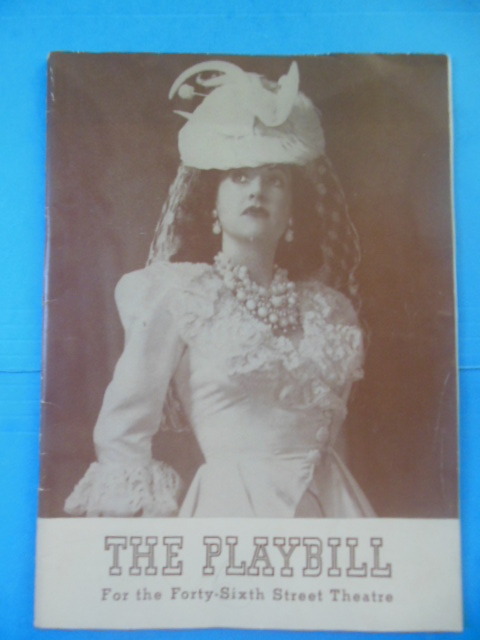 Image for Panama Hattie: Playbill for the Forty-Sixth Street Theatre, 1941 (Ethel Merman, Arthur Treacher, Betty Hutton)