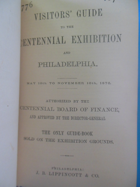 Image for Visitors Guide  to the Centennial Exhibition and Philadelphia 1876