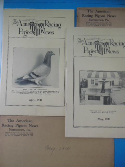 Image for The American Racing Pigeon News April, May 1941