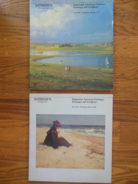 Image for Sotheby's Important American Paintings, Drawings, and Sculpture, May 30, 31, 1984 (Volumes I and II)