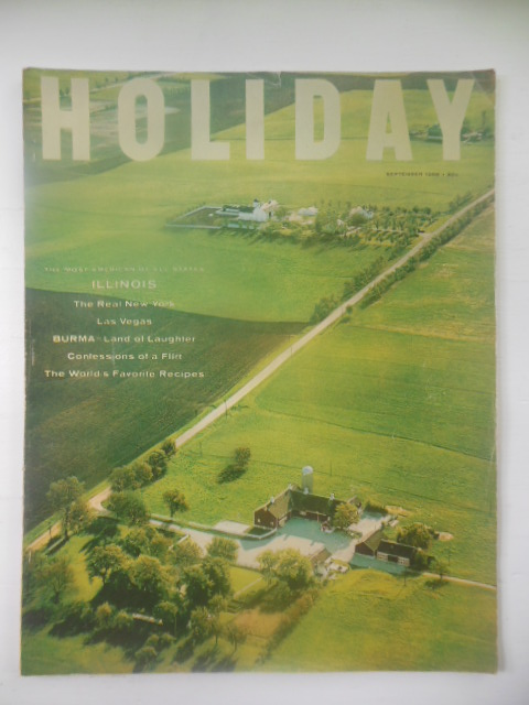 Image for Holiday Magazine September, 1956 (Illinois, Burma, Scotland, Las Vegas. the Real New York)