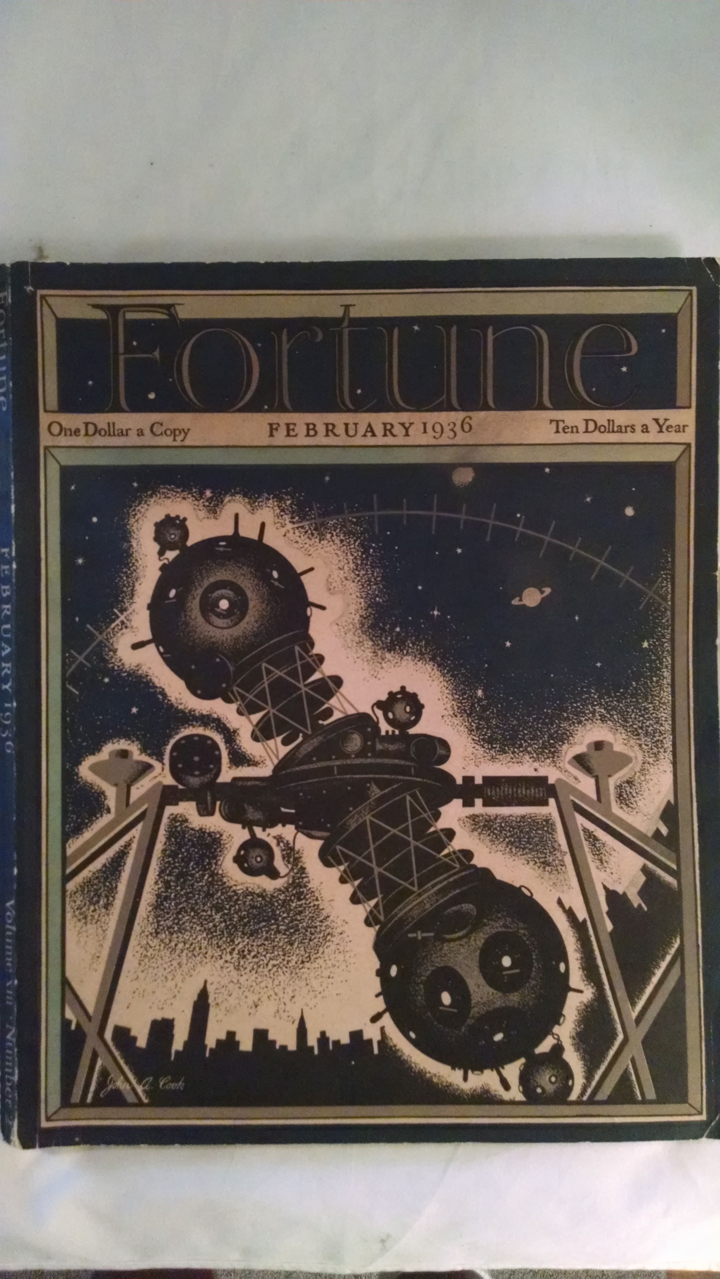 Image for FORTUNE MAGAZINE  FEBRUARY 1936