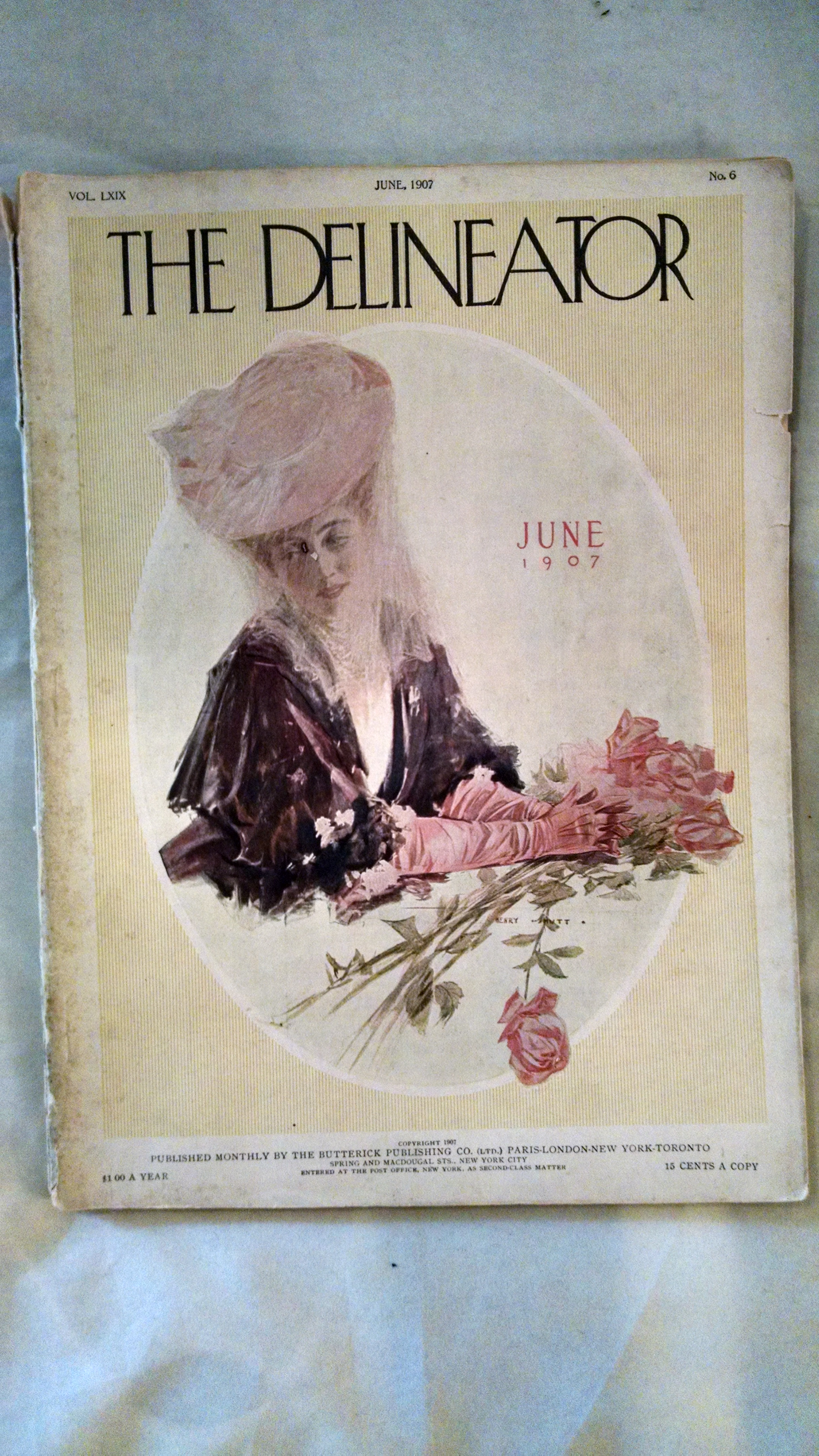 Image for THE DELINEATOR  JUNE 1907