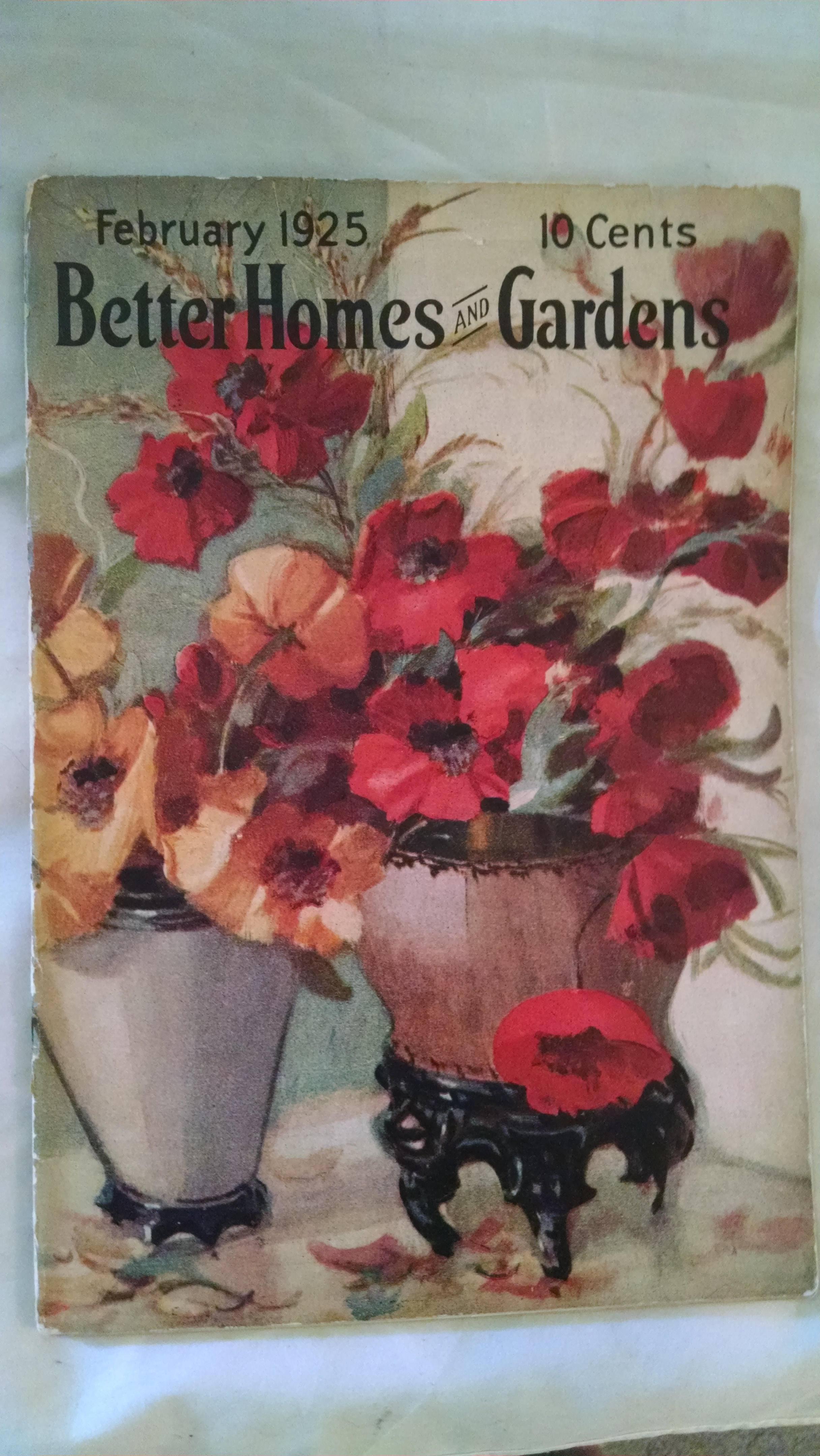 Image for BETTER HOMES AND GARDENS  FEBRUARY 1925