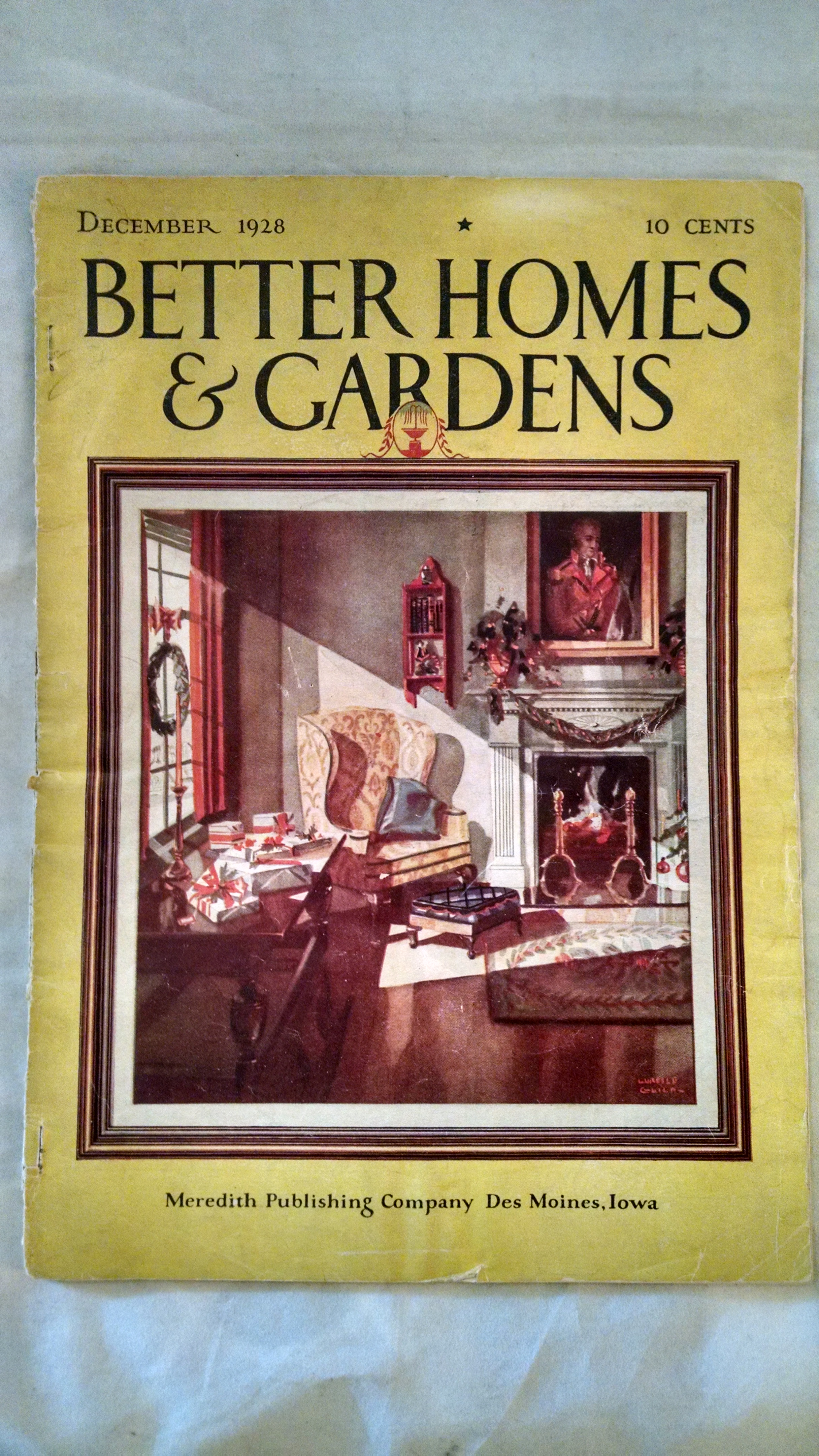 Image for BETTER HOMES AND GARDENS   DECEMBER 1928