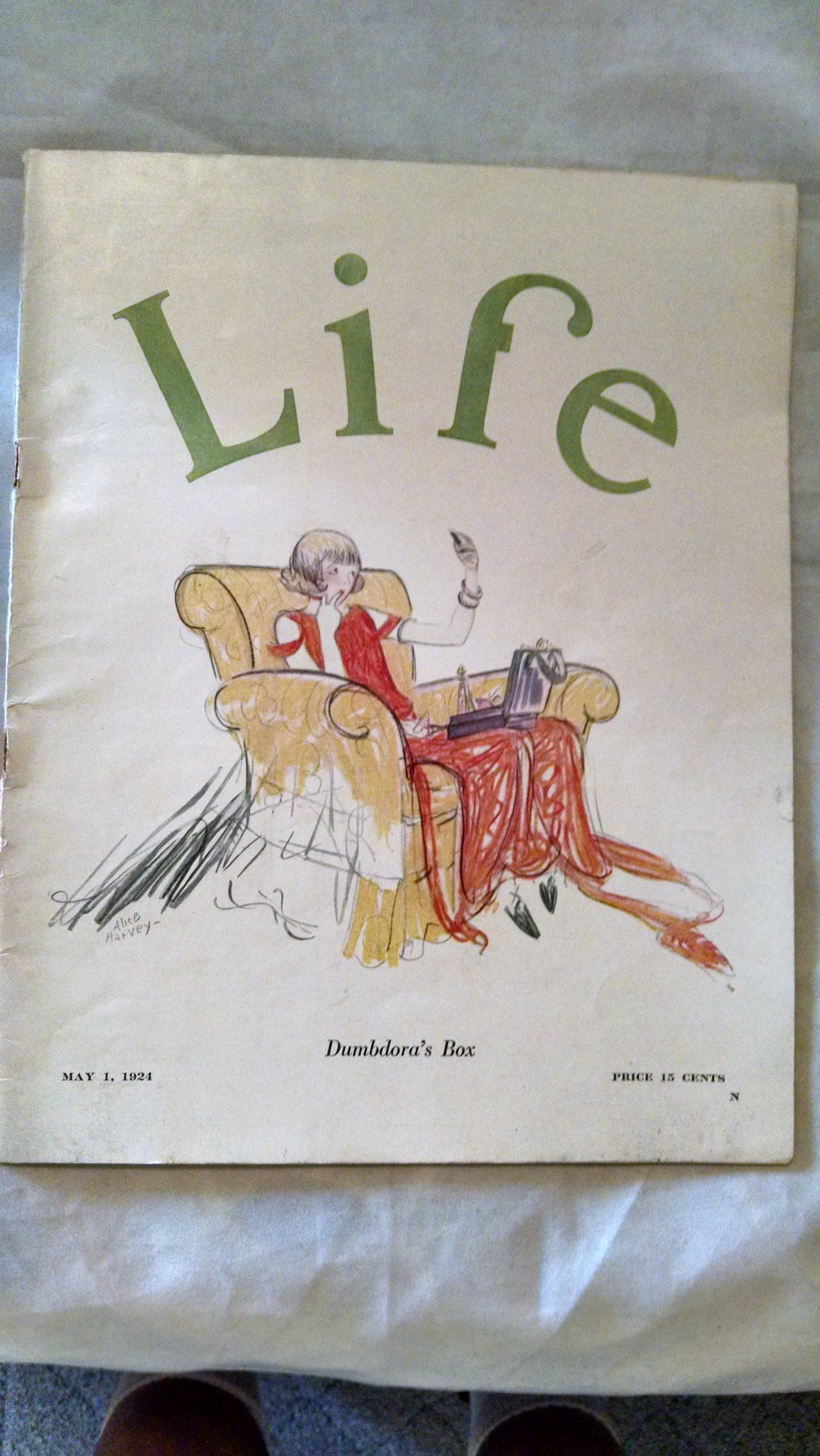 Image for LIFE MAGAZINE MAY 1 1924