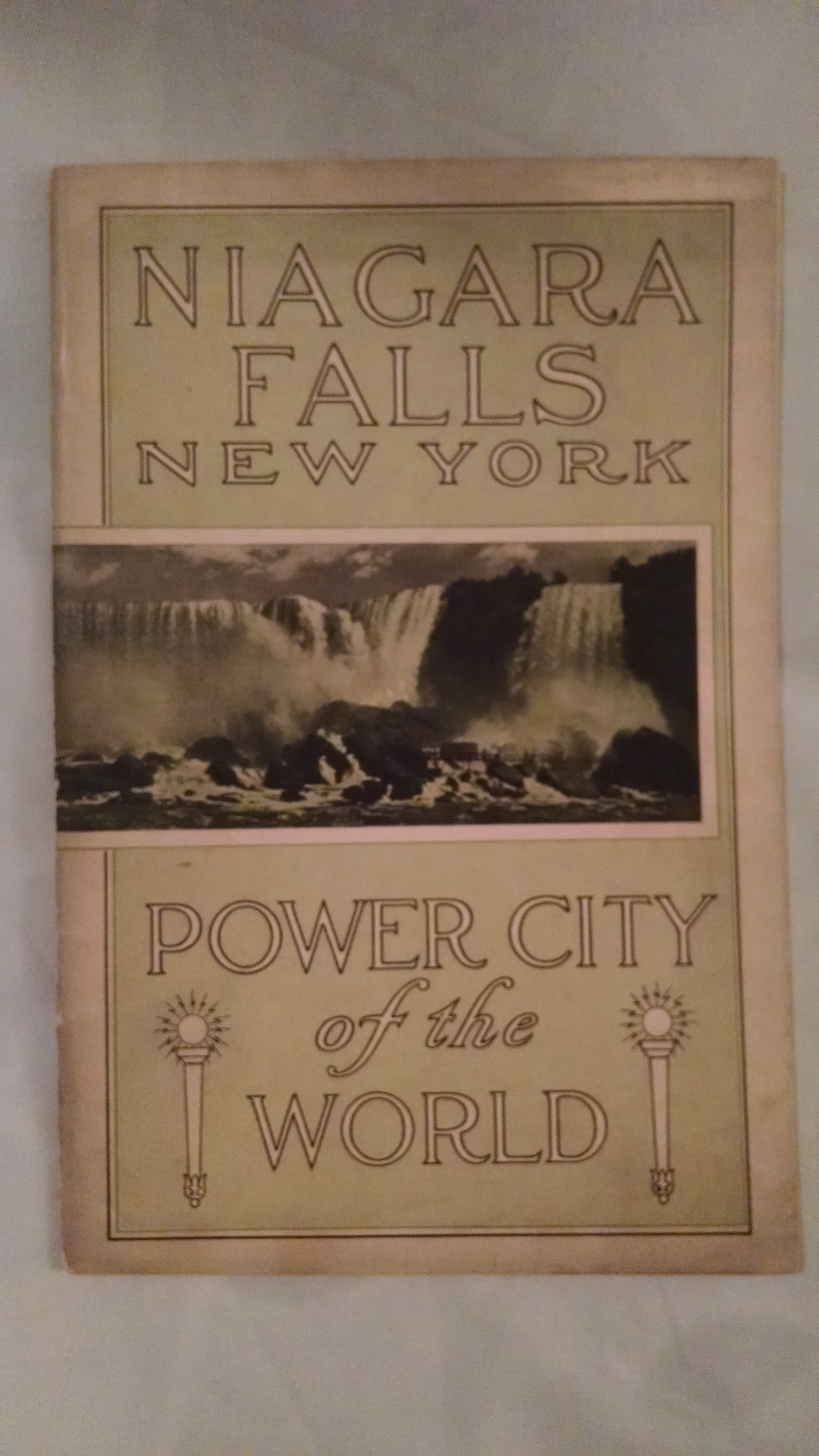 Image for NIAGARA FALLS NEW YORK POWER CITY OF THE WORLD