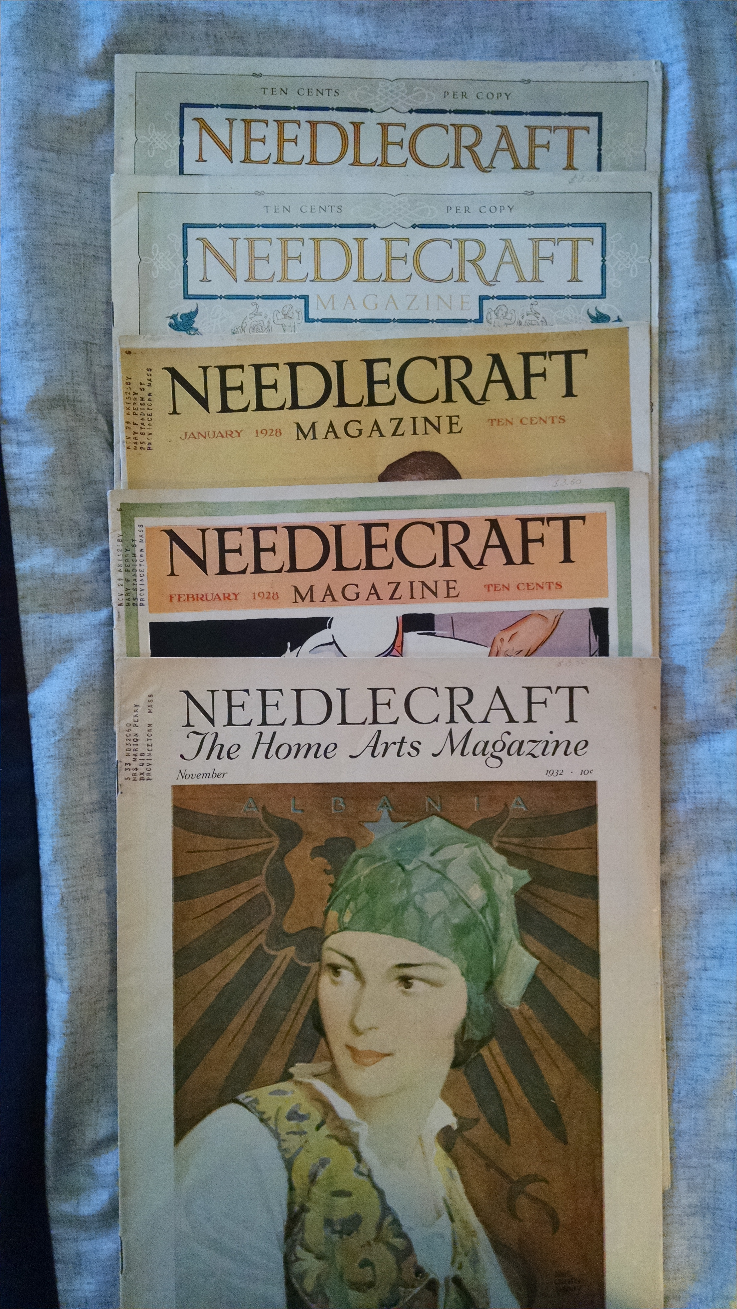 Image for NEEDLECRAFT MAGAZINE   - 5 ISSUES